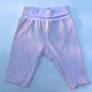 Taille Girl Shorts with Velvet